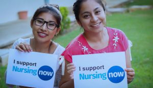 I support NursingNow